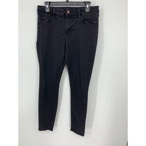 Old Navy rockstar black 14 long jeans